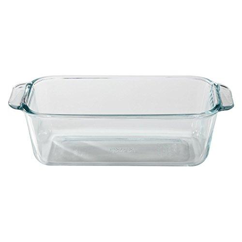 Pyrex 1.5 Quart Clear Basics Glass Loaf Pan