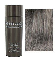 Mirage Hair Building Fibers, Grey, 25g / 0.78 oz.