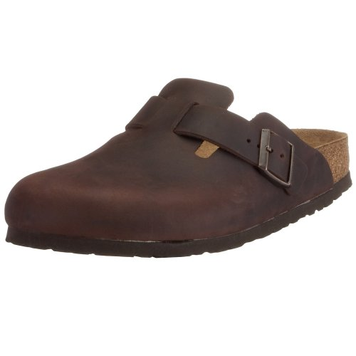 birkenstock clogs 39 39 boston 39 39 from leather in habana with a regular insole. Black Bedroom Furniture Sets. Home Design Ideas