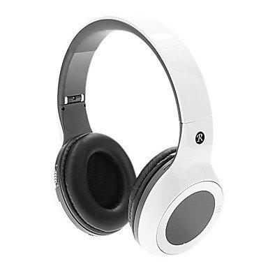 Zclzh-M06 Bluetooth On-Ear Hi-Fi Stereo Music Headset Headphone (White)