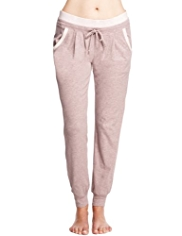 Limited Collection Cotton Rich Pleated Pyjama Bottoms