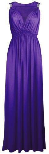 Couture Cexi - donna maxi dell'abito elasticizzati in spiral timando