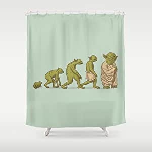 Society6 Yodalution Shower Curtain By Terry Fan Baby