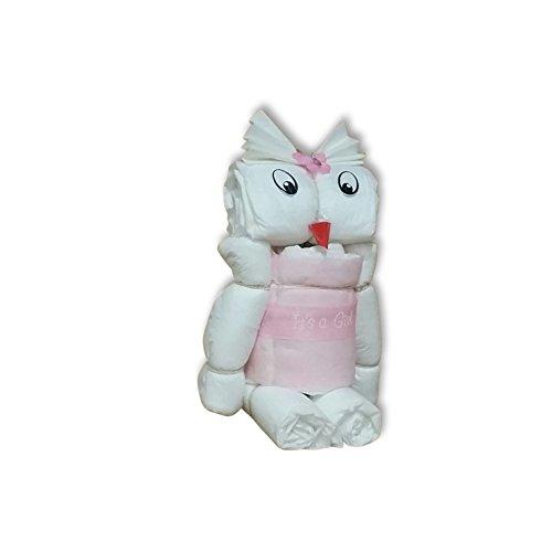 windeltorte geschenk zur taufe oder geburt hilkeys windeln rosa blau junge m dchen 2 3 6kg. Black Bedroom Furniture Sets. Home Design Ideas