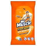 Mr Muscle Orange Floor Wipes Pack Of 12