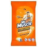 Mr Muscle Orange Floor Wipes Pack Of 12