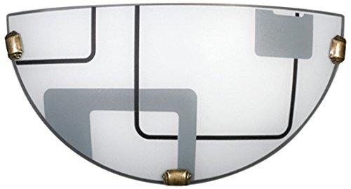 Lampex 034/K1 Applique murale Quadro K1, blanche