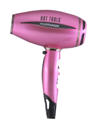 Very Blow Dryer Hot Tools Pinktitanium Salon 1600 Watt