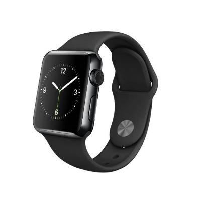 Apple MLCK2FD/A Watch Edelstahl Sportarmband (38mm) space schwarz/schwarz