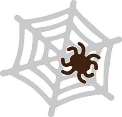 【42-033】スクラップブッキング用カッティングダイ 4.2x4.2cm クモ/くも/蜘蛛