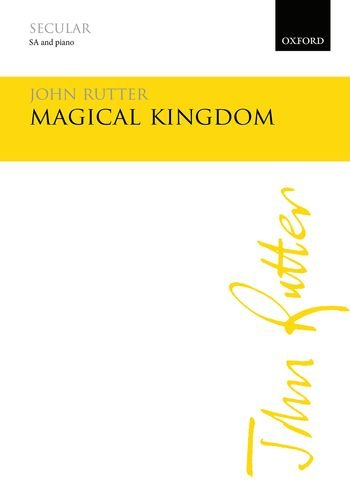 Magical Kingdom: Vocal score