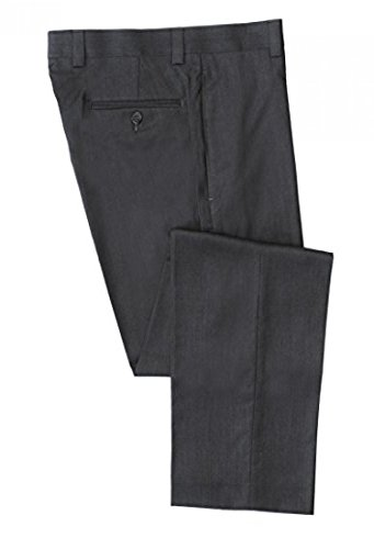 Men's Calvin Klein Ultra Soft Pre-Hemmed Dress Pants - Charcoal, 34 x 34 (Polo Dress Pants compare prices)