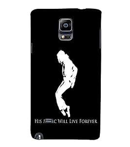 EPICCASE MJ Forever Mobile Back Case Cover For Samsung Galaxy Note 4 EDGE (Designer Case)