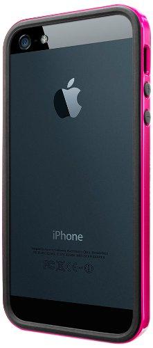 国内正規品SPIGEN SGP iPhone5/5S ケース ネオ・ハイブリッド EX スリム ビビッドシリーズ [ホット・ピンク] SGP10027