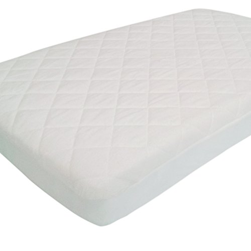 Pack N Play Crib Mattress Pad Cover Fits Pack and Play or Mini Portable Crib and Playard Mattresses (Pack Play Mattress compare prices)