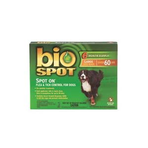 Click here to buy Bio Spot Flea Treatment from Amazon