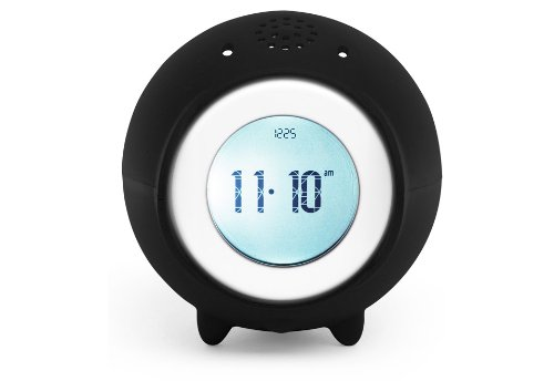 Tocky Runaway Alarm Clock with MP3 - Black the runaway midwife