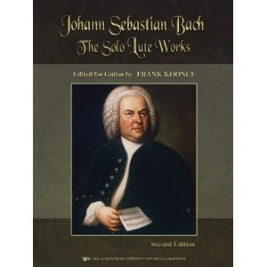 Johann Sebastian Bach The Solo Lute Works by Neil a Kjos Music Co