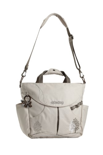 okiedog dahoma sumo big bag oyster grey diaper bag nappy bags designer. Black Bedroom Furniture Sets. Home Design Ideas