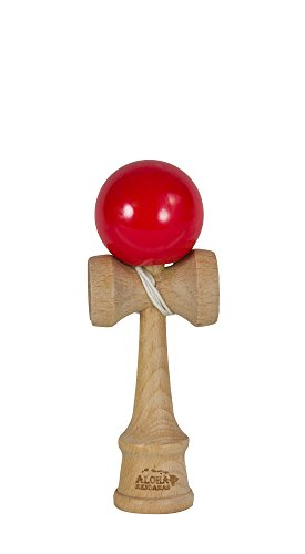 Aloha Kendamas Mini Kendama Glossy Red - 1