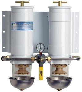 Racor 751000MAX30 Max-Dual Fuel Filter/Water Separator