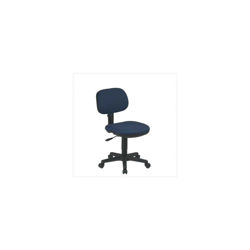 Wondrous Casablanca Dark Blue Office Star Basic Task Desk Chair On Caraccident5 Cool Chair Designs And Ideas Caraccident5Info