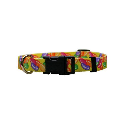 Yellow Dog Design Standard Collar, Medium, Jelly Beans