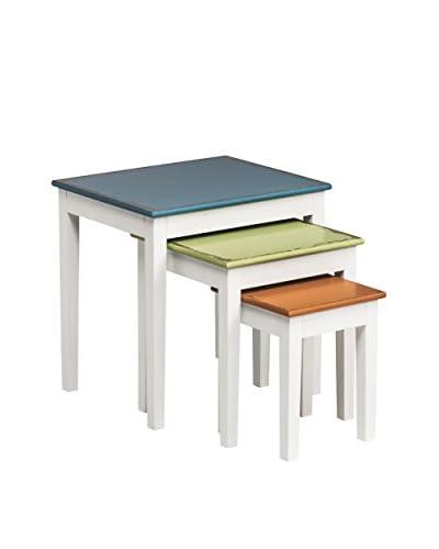 Premier Housewares Set 3 Tavolini Impilabili Alchemy