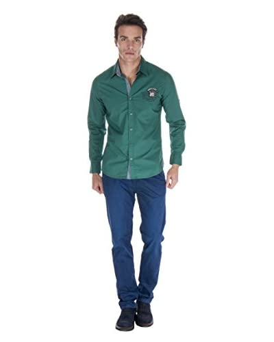 Giorgio Di Mare Camicia Uomo 10921 [Verde]