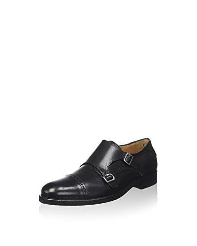 Florsheim Zapatos Monkstrap Russell Negro