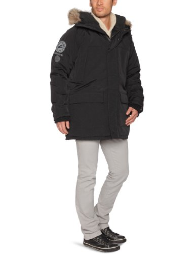 Quiksilver Gigantic-KPMJK233 Men's Jacket Black Medium