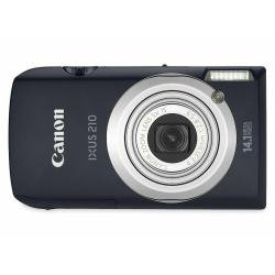 Canon - Ixus 210 - Digital Camera - Compact - 14.1 Mpix - Optical Zoom: 5 X - Supported Memory: Mmc, Sd, Sdxc, Sdhc, Mmcplus - Black