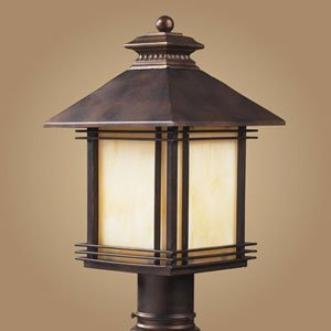 Click to read our review of Outdoor Post Lighting: ELK Lighting Blackwell 9
