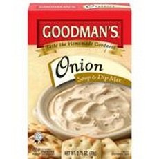 Goodman\'s Onion Soup & Dip Mix, 2.75-ounce (Pack of 24)