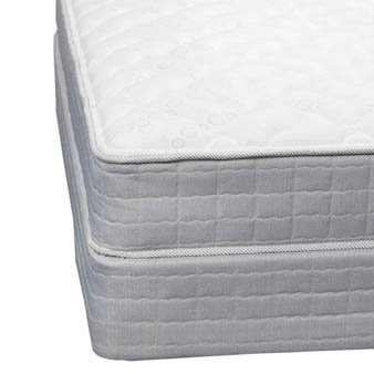 Twin Serta Perfect Sleeper Essentials Fairport Plush Mattress front-1043618