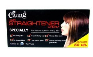 Caring Hair Straightener Straightening Cream Relaxer Certified By Hair World