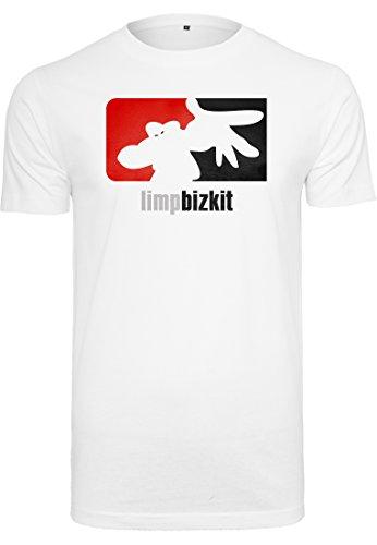 Urban Classics T-Shirt Limp Bizkit Big Logo, Color:white;Größe:S