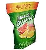 Halls Defense Assorted Citrus Drops - 180 ct