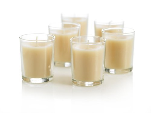 Yummi Scented Soy Votive Candles Jars Vanilla Cream 2