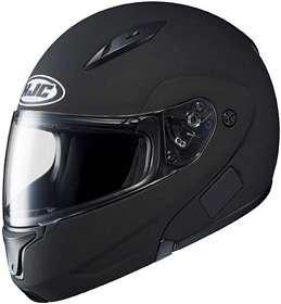 Hjc CL-MAX CLMAX FLIP-UP 2 Matte Black SIZE:XSM Full Face Motorcycle Helmet