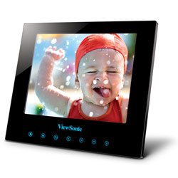 ViewSonic DPG807BK 8-Inch SwifTouch Digital Photo Frame