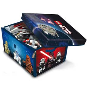 Keeps your LEGO Star Wars collection NEAT!