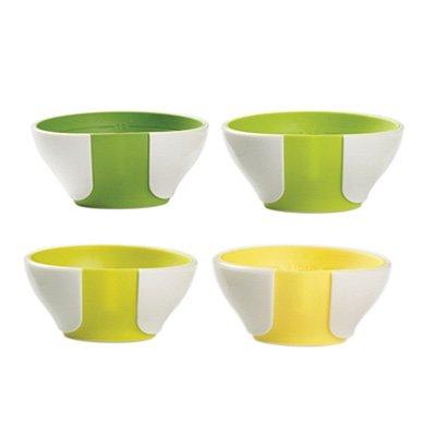 Chef'n シェフン ミニプレップボウル4点セット sleekstor Pinch + Pour mini prep bowls
