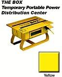 Leviton PB103-SGF 50 Amp, 125/250 Volt, Portable Power Distribution Center, Yellow