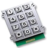KEYPAD, METAL IP67 3X4