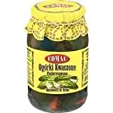 Edmal Gherkins / Cucumbers In Brine (Ogorki Kwaszone Pasteryzowane) 1640G