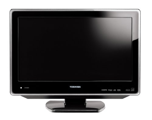 Toshiba 19LV610U 19-Inch 720p LCD TV with Built in DVD Player, Black