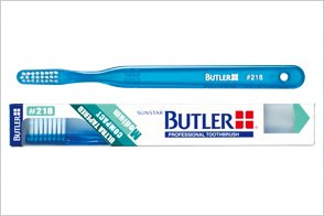 サンスター バトラー歯科用バトラー #218 12本 ふつうコンパクトヘッド 6色一般用