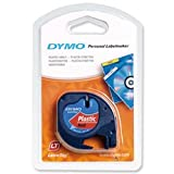 Brand New. Dymo LetraTag Tape Plastic 12mmx4m Cosmic Red Ref 91203 S0721630