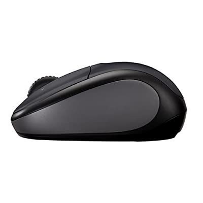 Logitech V220 Cordless Optical Mouse for Notebooks (Dark Silver)